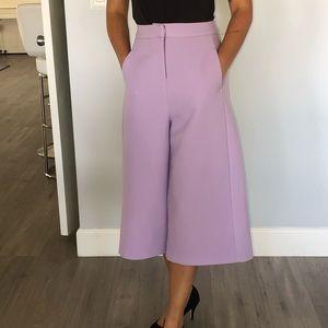ASOS heavy fabric lavender pants